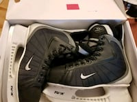 pair of black Nike high top sneakers in box Edmonton, T6G