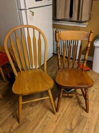 two brown wooden windsor chairs Baltimore, 21225