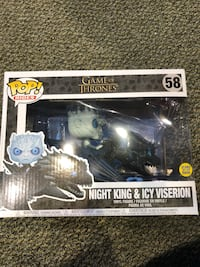 POP Figure. Night King and Icy Viserion. Game of Thrones. Unopened 103 mi