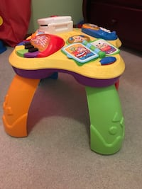 Fisher price toddler's yellow and green learning table