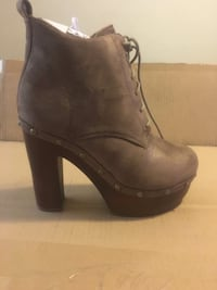 Women's Brand New Lace up & Slide on Platform Booties Catonsville
