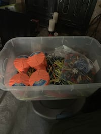 """K-Nex roller coaster set and other K-AmEx parts. Excellent condition for the next """"young inventor"""""""