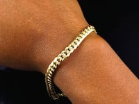 14k gold bracelet. I was offered $950 at a jewelry  shop. Washington, 20017