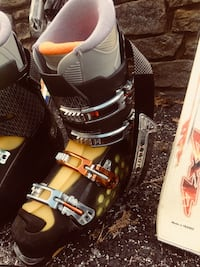 Ski boot and skis New Freedom, 17349