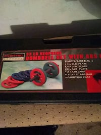 DUMBBELL Set With ABS Bar $75 OBO Oklahoma City, 73108