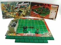 Parker Brothers Lionheart Medieval Warfare Board Game Battle Warrior Chesterton, 46304