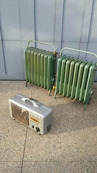 2 - VINTAGE ELECTRIC HEATERS!! Edmonton, T6R 3L6
