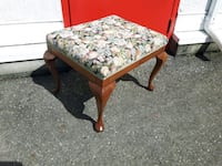 Lovely Stool with Queen Anne Legs Langley, V3A 0C9