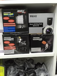 Meke macro led ring flash mx fc 110