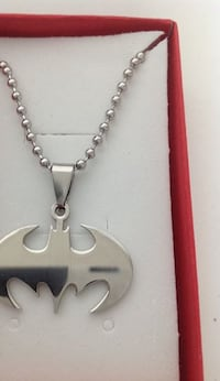 "Stainless Steel Batman Necklace with 21"" Chain - P10 PADUCAH"