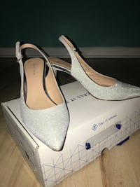 Sparkly silver heels  Mississauga, L4Z 3A7