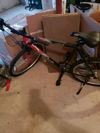 black and red hardtail mountain bike Woodbridge, 22193