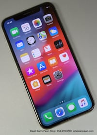 Apple iPhone X 64GB Silver Unlocked MQCL22/A Margate