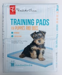 PC Brand 50 Training Pads for Puppies and Dogs, Brand New, Absorbent and Leak-Resistant Toronto, M1B 3H1