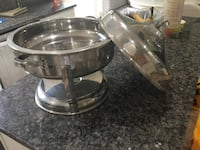 two stainless steel cooking pots Lorton, 22079