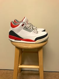 Air Jordan 3 fire red sz 10 Maple Ridge, V2X 9V3
