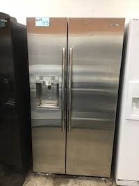 stainless steel side-by-side refrigerator Los Ángeles, 91601