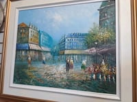 Fantastic Paris scene by Andreo-16 x 20 Montreal, H8R 1E2