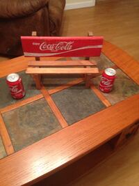 Coke Collectors  Miniature Coke Bench