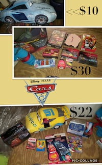 New disney cars toy bundle