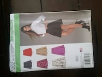 Simplicity womens skirt pattern.