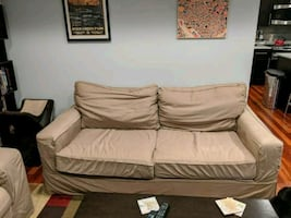 Pottery Barn Sofa and Chair