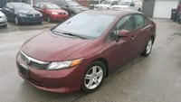 2012 Honda Civic LX Sedan Hamilton