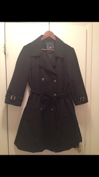 Brand New Women's Black Trench Coat