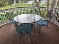 Wrought iron patio set Clarksville, 21029