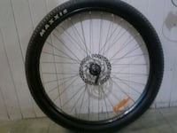 black bicycle wheel with tire Vancouver, V6A 1K3