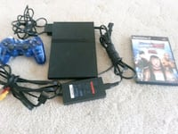 PS2 SLIM CONSOLE COMPLETE WITH GAME/MEMORY CARD Edmonton, T5Z 2T1