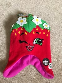 Brand new Shopkins Sweet Little Blossom Hat & gloves (pick up only) Alexandria, 22310