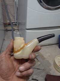 white and black smoking pipe Albuquerque, 87123