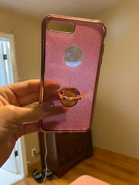 Rose gold diamond iPhone case for 6+through8+