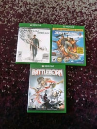 four Xbox One games Kitchener, N2M 2H9
