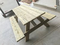 Adult pressure treated picnic table Calgary, T3N 0W5