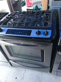 black and gray gas range oven Buena Park, 90621