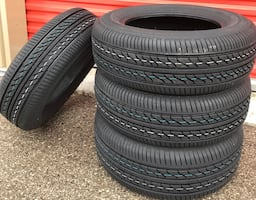 4 x 215/65/15 BRAND NEW ALL SEASON TIRES $$$$250