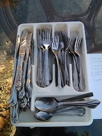 stainless steel cutlery set in box Washington