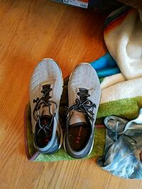 pair of gray running shoes Clayton, 94517