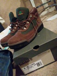 pair of brown-and-black Timberland work boots Germantown, 20874