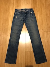 New with Tags Women's Seven for All Mankind Distressed Classic Straight Leg. Size 26. Original price: $200 New York