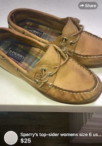 Sperry's top-sider womens size 6 used but loved CLEANED* London, N5W 1E8