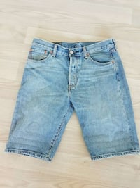 blå denim shorts Hundhamaren, 7562