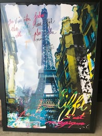 Eiffel Tower Poster in frame  Lawrenceville, 30043