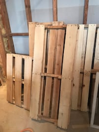 Bench/swing pallets Roy, 84067
