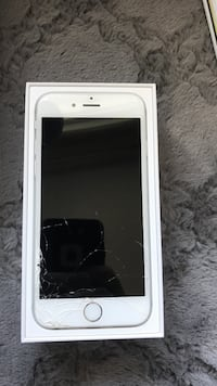 White iphone 6 with box