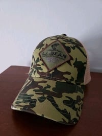 LL Bean Fishing camouflage hat Hopedale, 01747