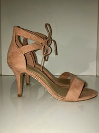 Forever 21 pink suede lace up heels Chesterfield, 63017