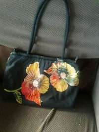 black and yellow floral tote bag Wheat Ridge, 80033